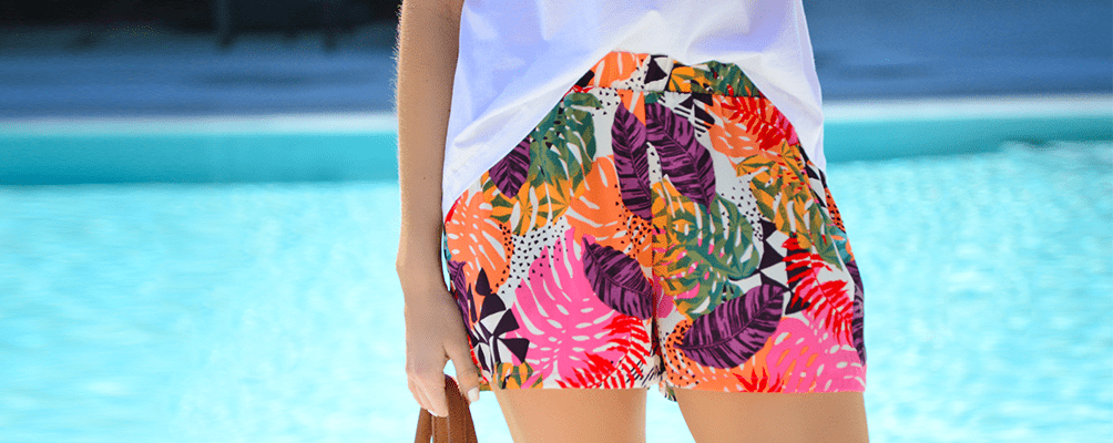 Pull on Pocket Shorts, Palm