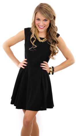 Right On Target Dress Black Dresses The Blue Door Boutique