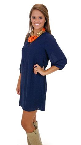 Blue Tunic Dress Photo Album - Reikian