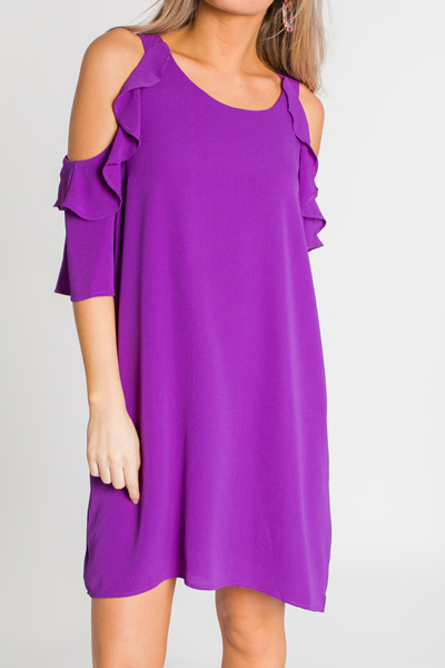 Mckell Dress, Purple