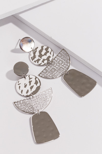 Party of 4 Ear, Silver