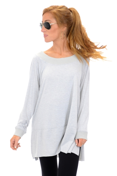 Casual Off Shoulder Tunic