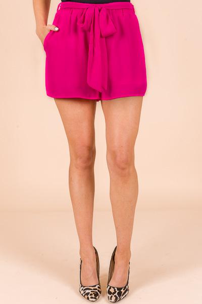 Neon Berry Shorts
