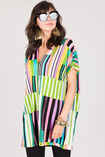 Classic Karlie Geo Stripe Dress