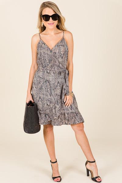 Wildest Wrap Dress