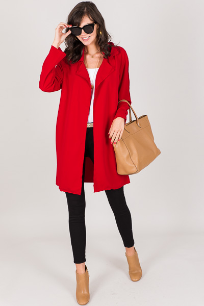 All Day Jacket, Red