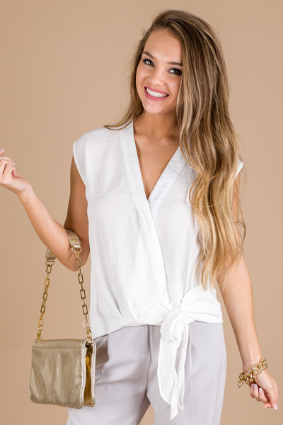 High Line Top, Off White