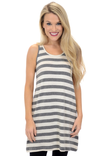 Heather Stripes Tank