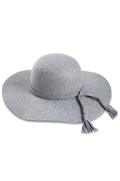 Montana Felted Hat, Grey