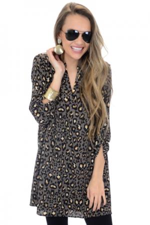 Liza Leopard Frock