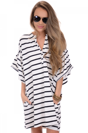 Phoebe Striped Frock