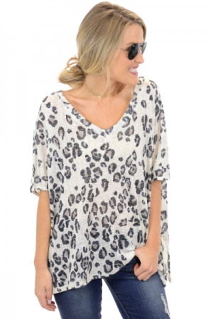 Purrfect Print Top