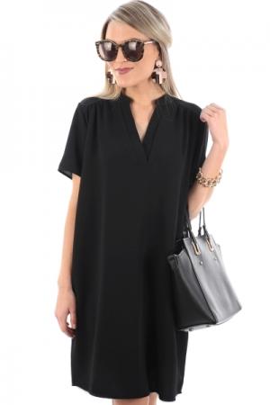 Paloma Shift Dress, Black