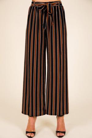 Espresso Stripe Pants