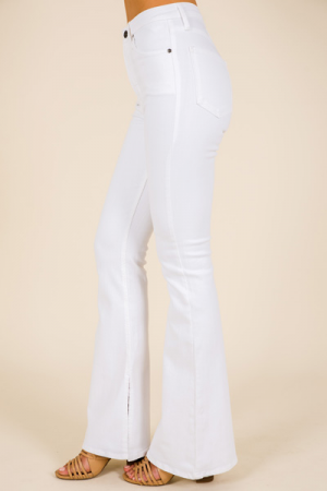 Modern Flares, White