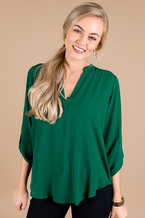 Manor Top, Botanical Green