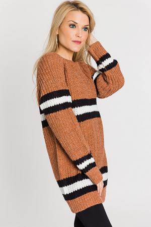 Under the Sun Striped Sweater