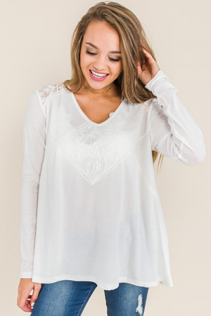 Laced Thermal, Ivory