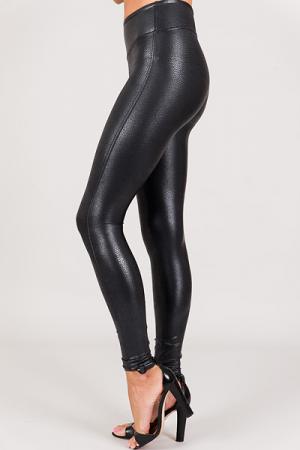 SPANX Pebbled Leather Leggings