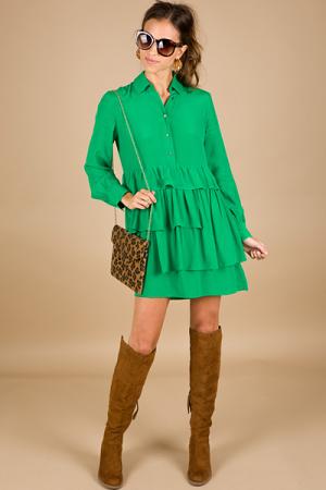 Girl Crush Dress, Green
