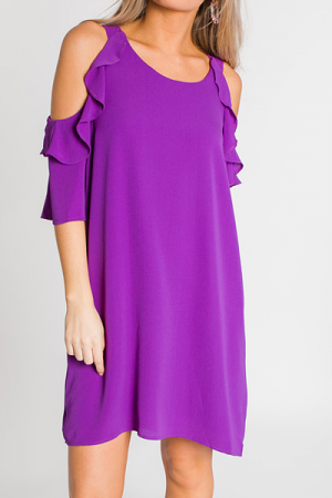 Mckell Dress, Purple