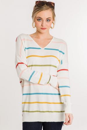 In a Dream Sweater, Multi Strip