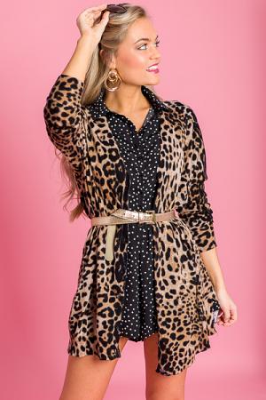 THE Leopard Cardigan
