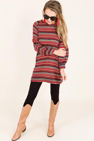 Rainbow Stripes Sweater