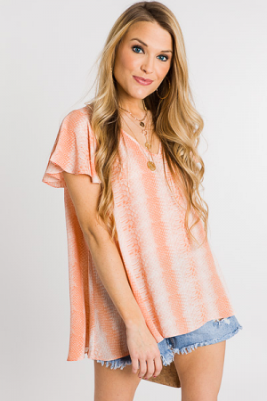 Avril Top, Peach Snake