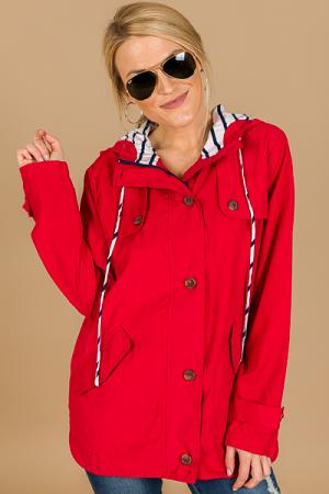 Nautical Button Jacket