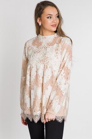 Almond Lace Tunic