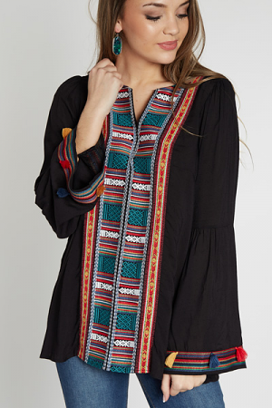 Aztec It Out Tunic