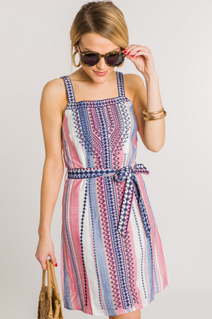 Candy Crush Embroidered Dress