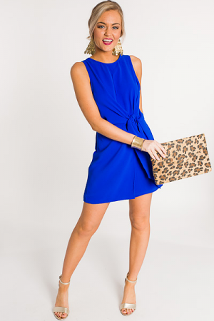 Wrapped Around Romper, Royal