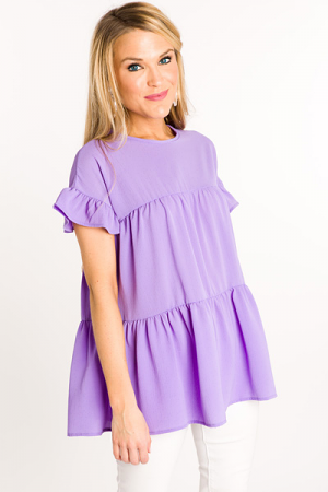 Made With Love Babydoll, Lilac
