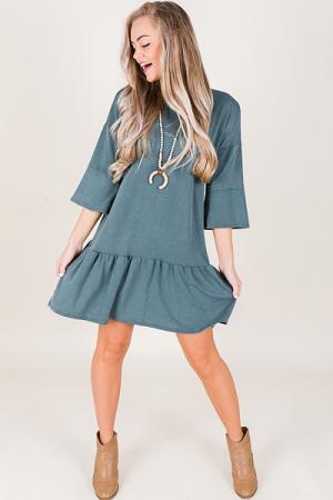 Rochelle Dress, Blue
