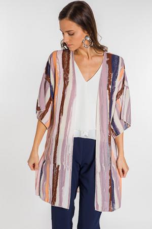 Paint Strokes Kimono