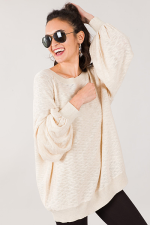 Natural Knit Pullover