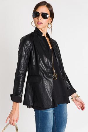 Divine Leather, Black